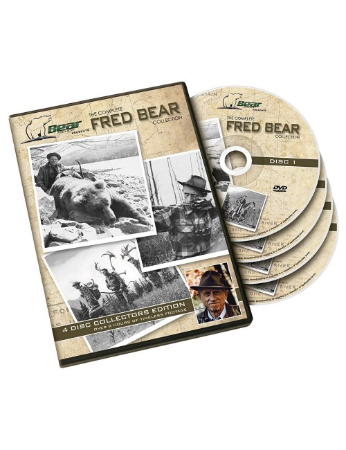 FRED BEAR ARCHERY - 4 DVD's