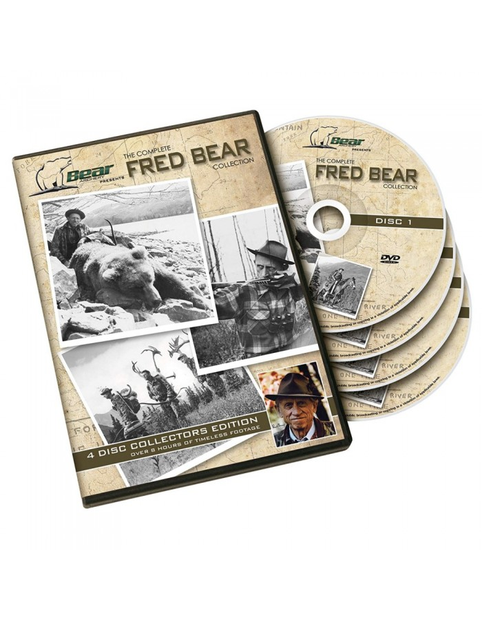 FRED BEAR ARCHERY - 4 DVD's