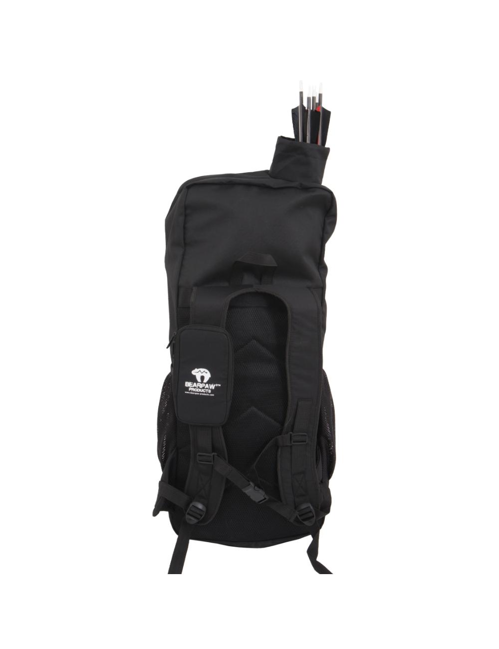 Bearpaw Rucksack large, schwarz