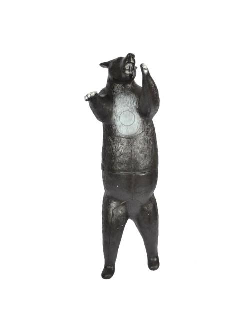 Franzbogen stehender Schwarzbär